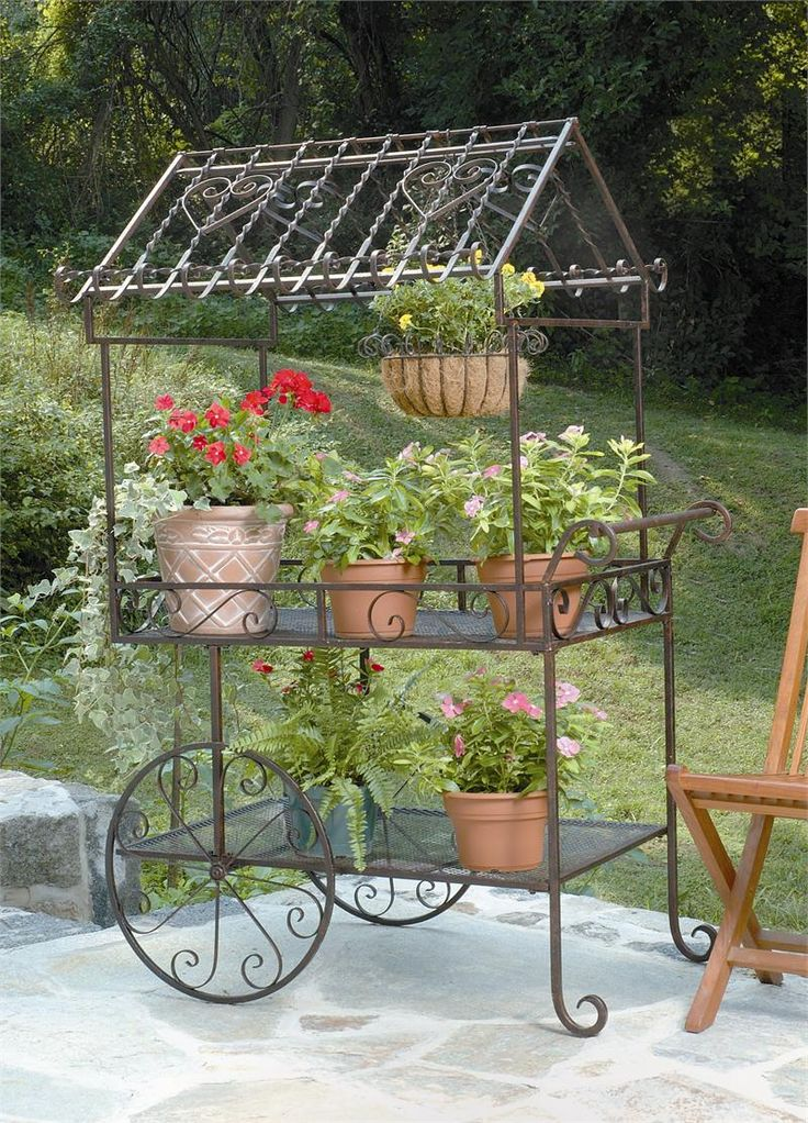 Marvin Gardens Sells Deer Park Ironworks, Large Flower Carts, And  Decorative Planter Carts At Great Prices.