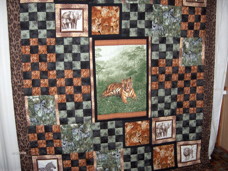 Tiger quilt for A - BaRb