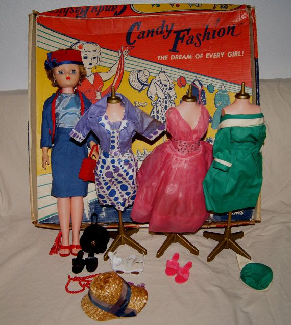 Candy Fashion Doll 1960's Vintage s Deluxe Candy