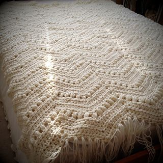 Vintage Ripple Crochet Afghan Pattern : Ravelry: Vintage Ripple Leisure Arts Quick and Cosy ...