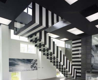 Suspended Staircases: 18 Hanging Stair U0026 Tread Sets : [ By Steph In  Architecture U0026 Design , Furniture U0026 Interiors .