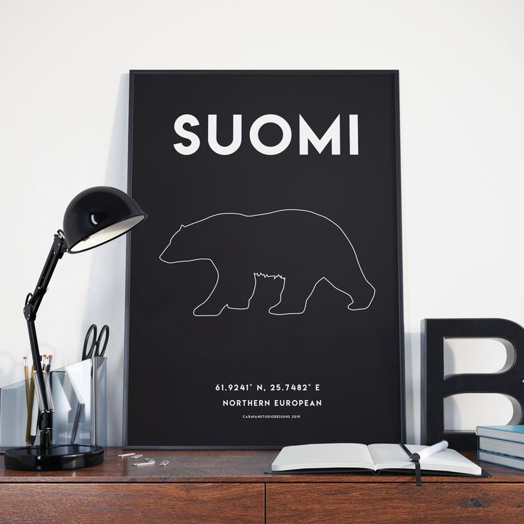 Finland suomi travel poster home decor wall art poster vintage travel poster Digital Download 18×24 Inches
