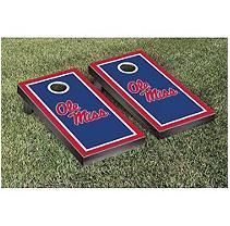 Victory Tailgate Ole Miss Rebels Cornhole Set