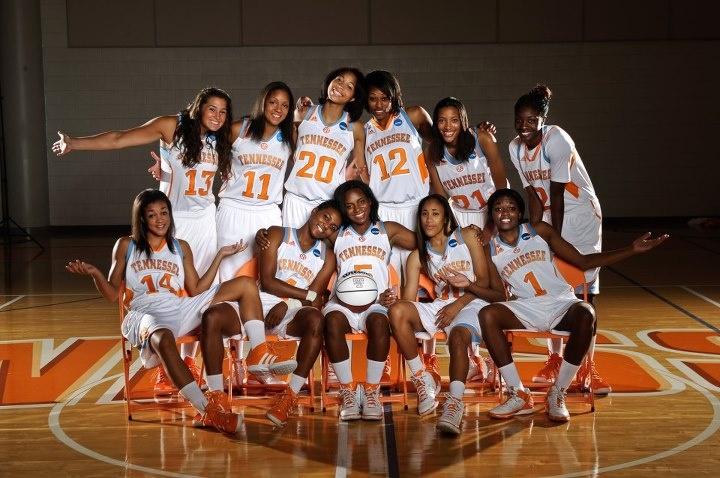 2012-2013 Lady Vols Basketball Team
