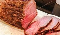 The Most Perfectly Succulent Eye of Round Roast (that tastes like Prime Rib)