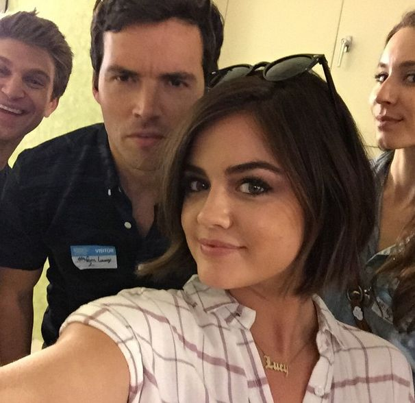 'Pretty Little Liars' Season 6: Lucy Hale's Shorter Bob, A's Secrets Pretty Little Liars  #PrettyLittleLiars