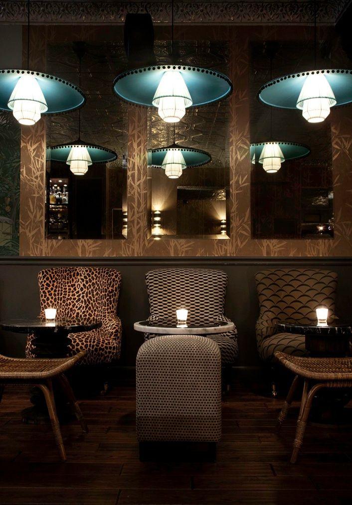 ECC Lower East Side - Cocktail Bar - interior design by Dorothée Meilichzon