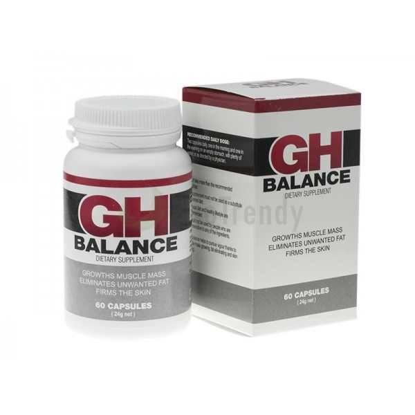 GH Balance to męski hormon wzrostu w postaci kapsułek, którego działanie przyspiesza spalanie tkanki tłuszczowej, a także stymuluję wzmożoną budowę mięśni. Preparat znacząco wzmacnia mięśnie, stawy oraz dba o prawidłową kondycję skóry. Regularne przyjmowanie GH Balance nie tylko poprawia ogólny stan ciała, ale dodaje również energii oraz kompleksowo wzmacnia cały organizm. Link: http://www.biotrendy.pl/produkt/gh-balance-wieksze-miesnie-dzieki-ghfactor-7/
