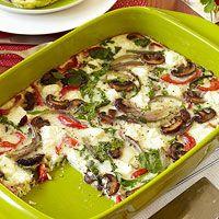 Roasted Vegetable Oven-Baked Breakfast Frittata