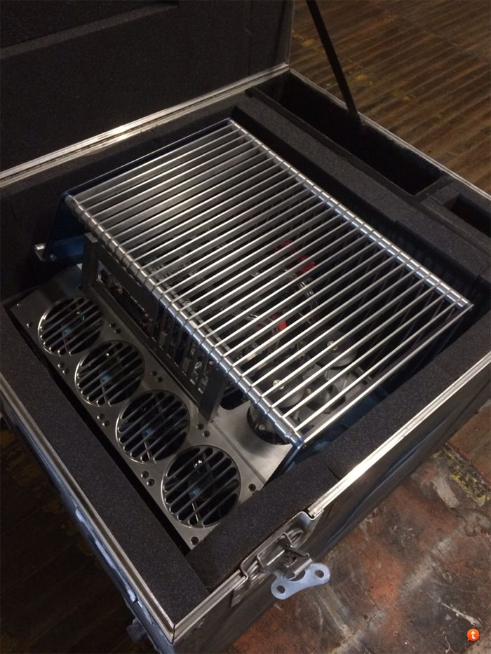 FrozenCPU Bench Tech Station Gaming Overclocking Liquid Cooled PC