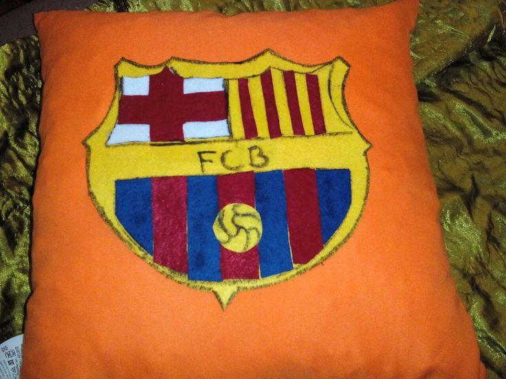 Barcelona-logo pillow