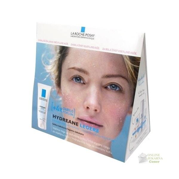 U paketu se nalazi: La Roche Posay Hydreane Riche 40 ml,BB krema – 15ml, Termalna voda – 50ml, Fiziološko mlijeko za čiščenje – 15ml i uzorak Anthelios XL zaštitne kreme za sunce