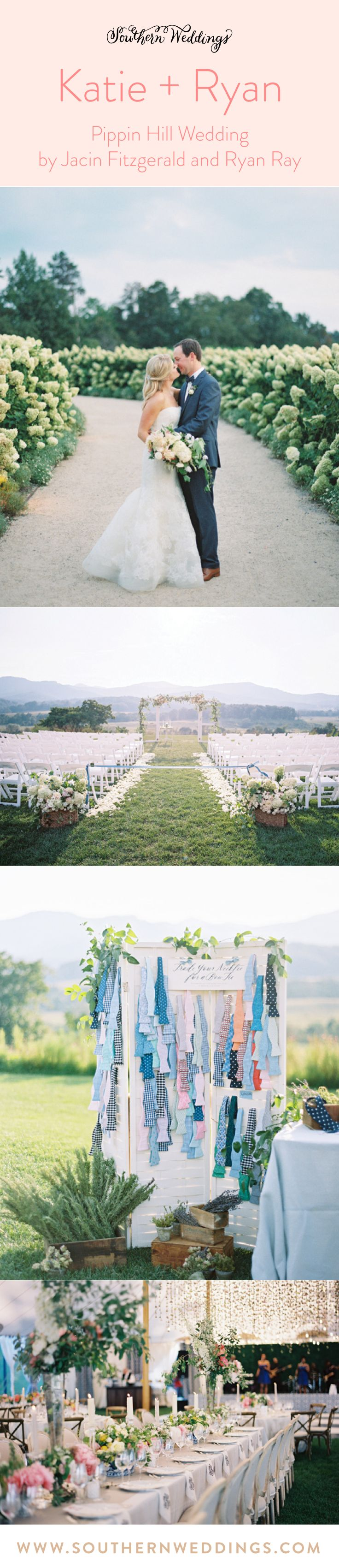 Bride, Katie, shares all about her dreamy Pippin Hill wedding on the blog!