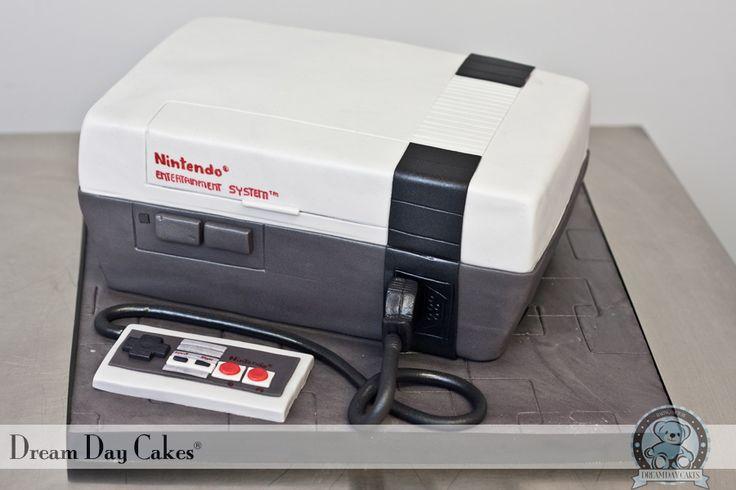 Nintendo Cake by Yeni Monroy • CakeJournal.com