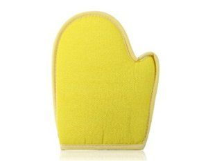Tanboo Bathing Cleansing Sponge Glove (Yellow) by Tanboo. $4.99. Bath Supplies. Material: Microfiber. Glove design for convenience. Provides better cleansing way than common towel. Cleansing your skin gently. Material: MicrofiberGlove design for convenienceCleansing your skin gentlyProvides better cleansing way than common towel