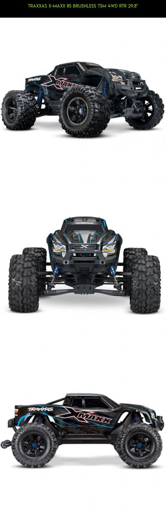 "Traxxas X-Maxx 8S Brushless TSM 4WD RTR 29.8"" #racing #parts #tech #kit #drone #traxxas #products #x-maxx #plans #camera #gadgets #shopping #technology #fpv #8s"