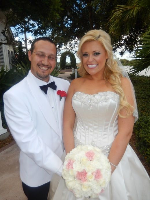 I Officiated The Wedding Of Chris Long And Beckie Eastwood At The Walt Disney World Wedding
