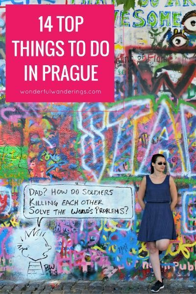 Looking for things to do in Prague, Czech Republic? This list has a ton of tips with must-sees like the Prague Castle and the Old Town Square, but also some lesser known sites. Click here to read more or pin and save for later. From wonderfulwanderings.com