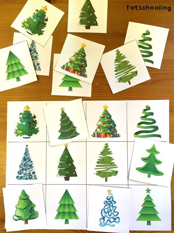 Christmas Tree Learning Activities for Toddlers & PreK   Totschooling - Toddler and Preschool Educational Printable Activities