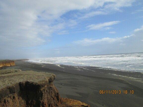 Playa Puaucho. Hermosa y solitaria. Ideal para bañarse