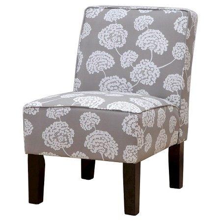 Burke Slipper Chair Grey - Skyline : Target