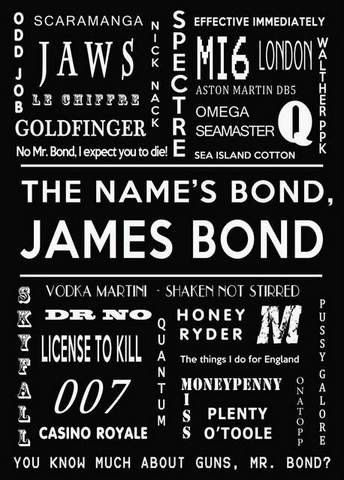 James Bond 007 d