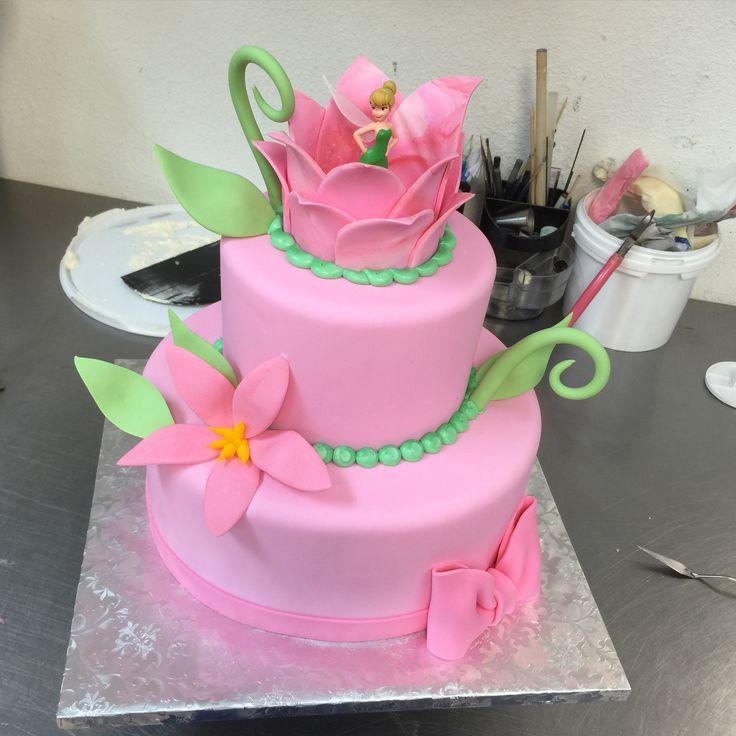 Tinker Bell Baby Shower Cake