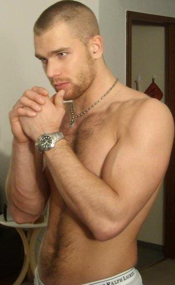 I'd sexy shirtless ginger men