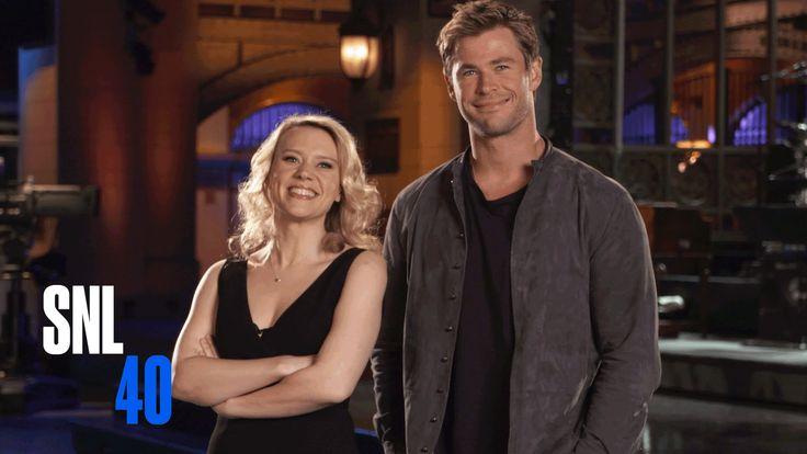 Kate McKinnon and SNL Host Chris Hemsworth Attempt a Dirty Dancing Lift