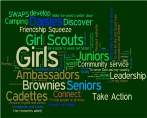 A wiki for finding and adding ideas and resources for Girl Scout badge requirements and troop activities.