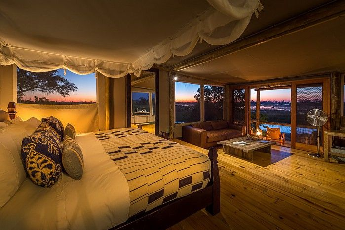 Little Vumbura offers the perfect balance of luxury and exciting game viewing.