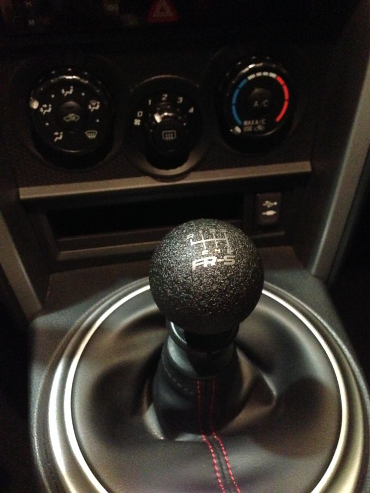 Flossy Grip Tape Shift Knob 6 Speed Scion Frs