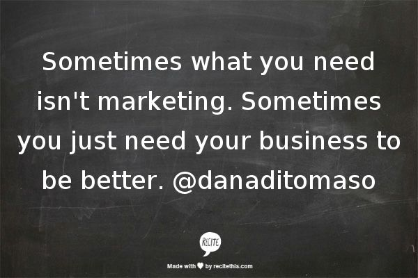 Marketing quote