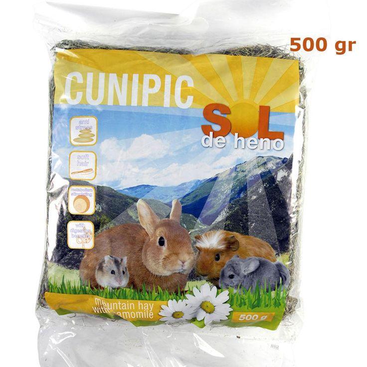 Sol de Heno con manzanilla 500 gr Cunipic