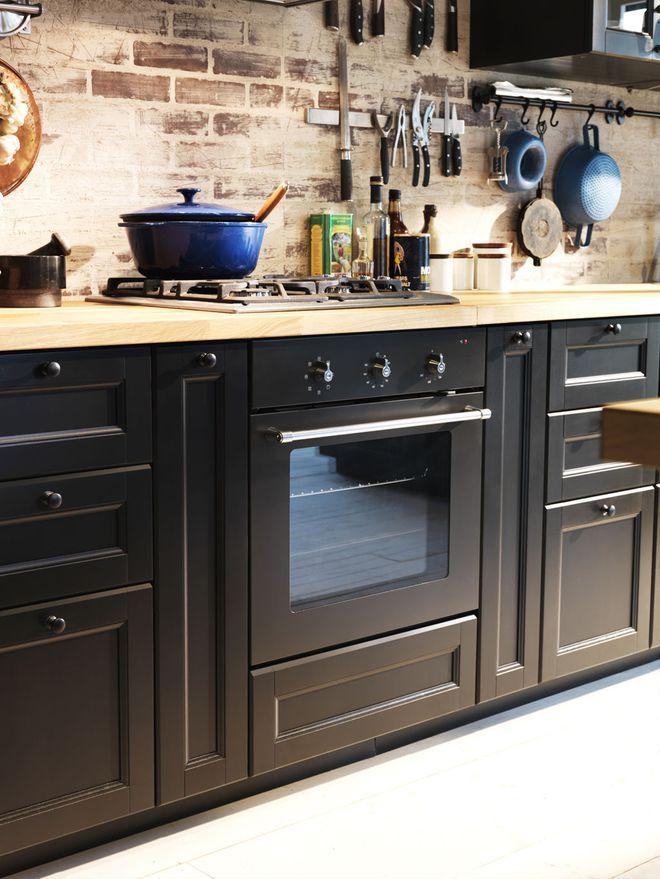 die 26 besten bilder zu cuisine auf pinterest | graue schränke ... - Offene Küche Ikea