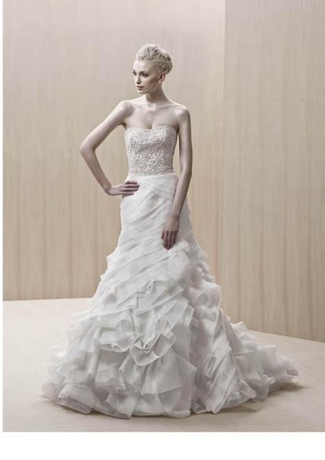 The 23 best Enzoani images on Pinterest | Wedding frocks, Short ...