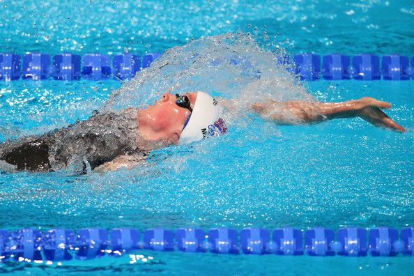 Hannah Miley of Great Britain competes during the Swimming Women's Medley 400m Final on day sixteen of the 15th FINA World Championships at Palau Sant Jordi  on August 4, 2013 in Barcelona, Spain.