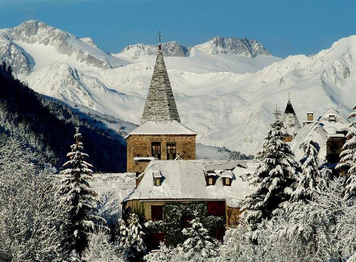 L'hivern a Gessa, a la Val d'Aran (Catalunya - Catalonia)