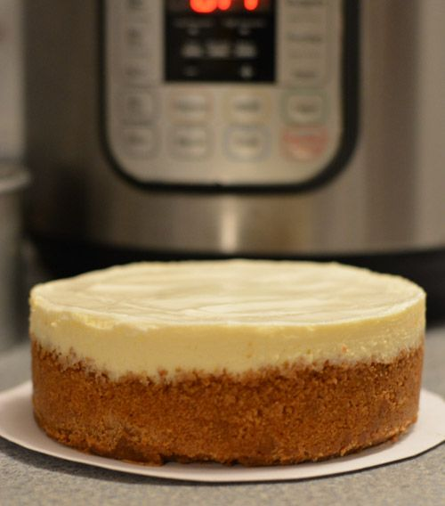 """These are the tips I've found to make that perfectly creamy, tangy cheesecake in my Instant Pot and 6"""" spring form pan."""