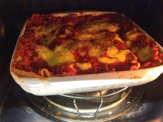 Di tutto e di più sulla Sardegna di Giurtalia e tanto altro ancora.: La mia pasta al forno cotta al microonde con la be...