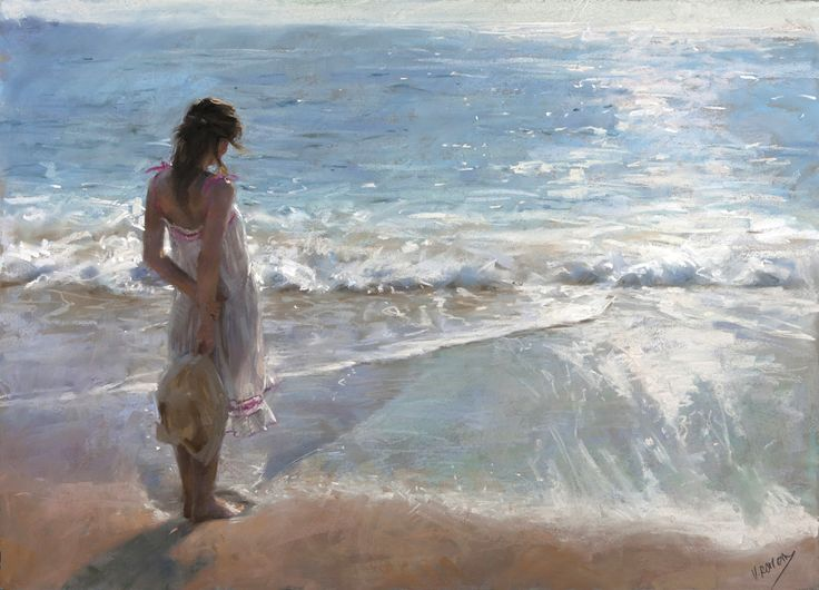 D.W.C. A beautiful day - Artist Vicente Romero Redondo ~ DANCES WITH COLORS