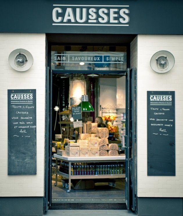 shop front Causses | Paris