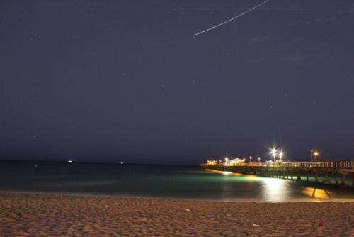 Ft. Lauderdale Beach at Night.