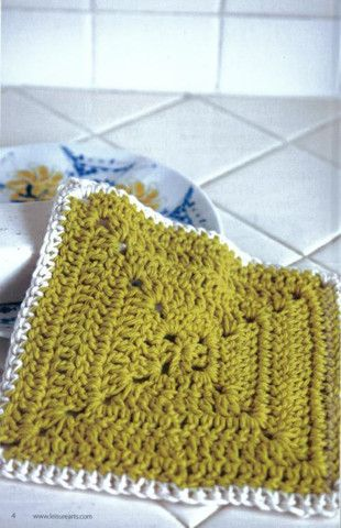 Picture of Dishcloths. Maggie's