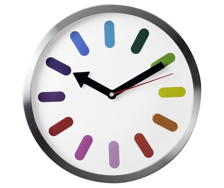 #Reloj de pared colorista | Disponible en Innova
