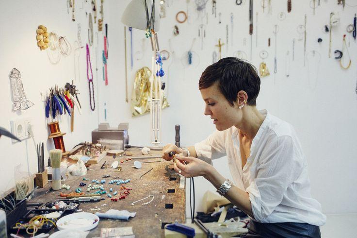 Saskia Diez, Jewelry Designer, Glockenbachviertel, Munich