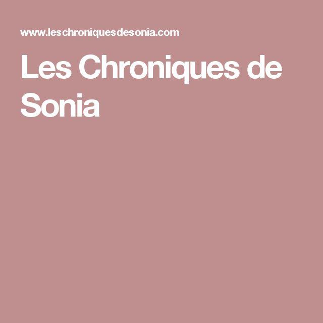 Les Chroniques de Sonia