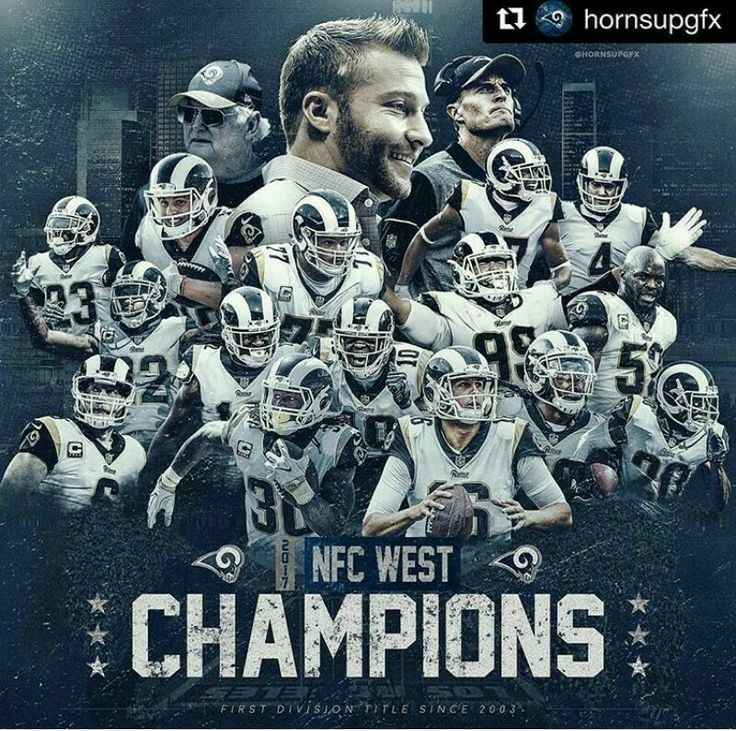 Pin by Lisa Ayala on Los Angeles Rams Nfc west, Los