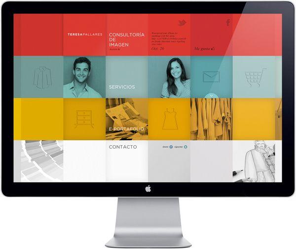 Web Consultoría de Imagen by Manuel Navarro Orozco, via Behance: Webdesign, Website Icons, Layout Design, Grid Layout, Amazing Web, Website Layout, Web Design Inspiration, Website Design, Beautiful Web