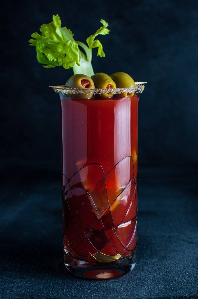 Canada's Caesar Cocktail is a delicious blend of vodka, Clamato juice, Worcestershire sauce, lime, and Tabasco sauce. Like bloody marys? You might want to try this! | The Spice Train